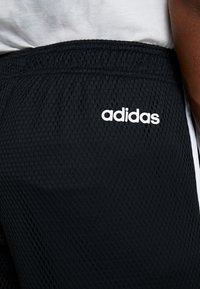 adidas Performance - Sports shorts - black/white - 5