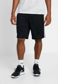 adidas Performance - Sports shorts - black/white - 0