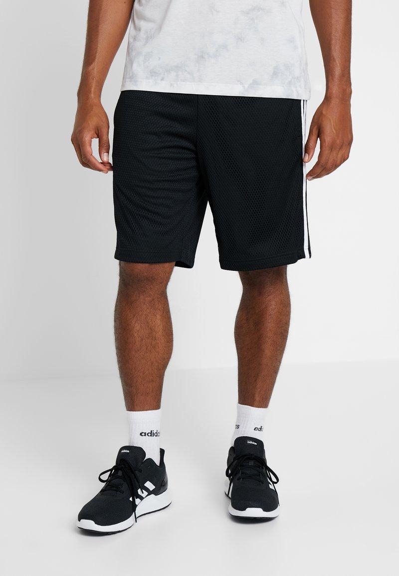 adidas Performance - Sports shorts - black/white