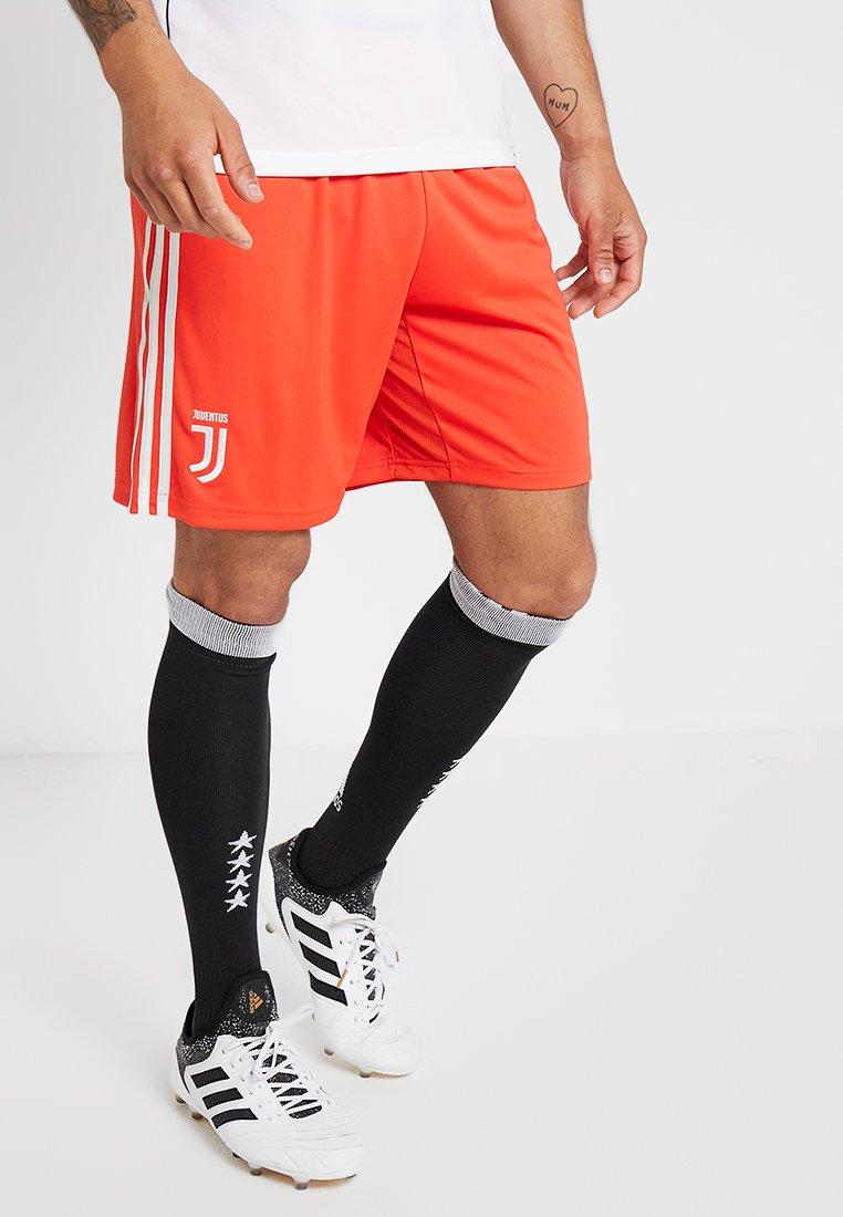 adidas Performance - JUVE - kurze Sporthose - hire red/raw white