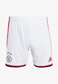 adidas Performance - AJAX AMSTERDAM H SHO - Sports shorts - white/bold red/black - 4