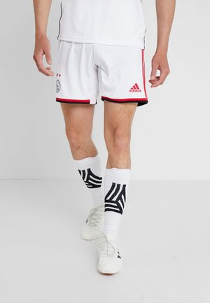 AJAX AMSTERDAM H SHO - Sports shorts - white/bold red/black