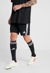 adidas Performance - JUVENTUS TURIN H SHO - Sports shorts - black/white - 0