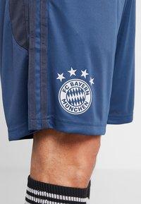 adidas Performance - FC BAYERN MÜNCHEN TR SHO - Pantalón corto de deporte - blue - 6