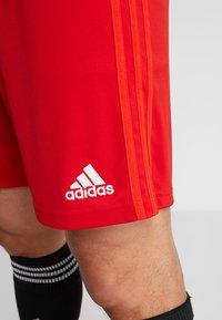 adidas Performance - FC BAYERN MÜNCHEN H SHO - Träningsshorts - red - 5