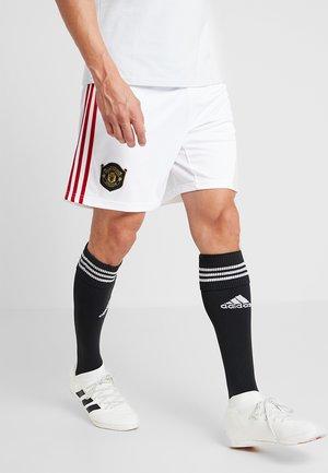 MANCHESTER UNITED FC - kurze Sporthose - white