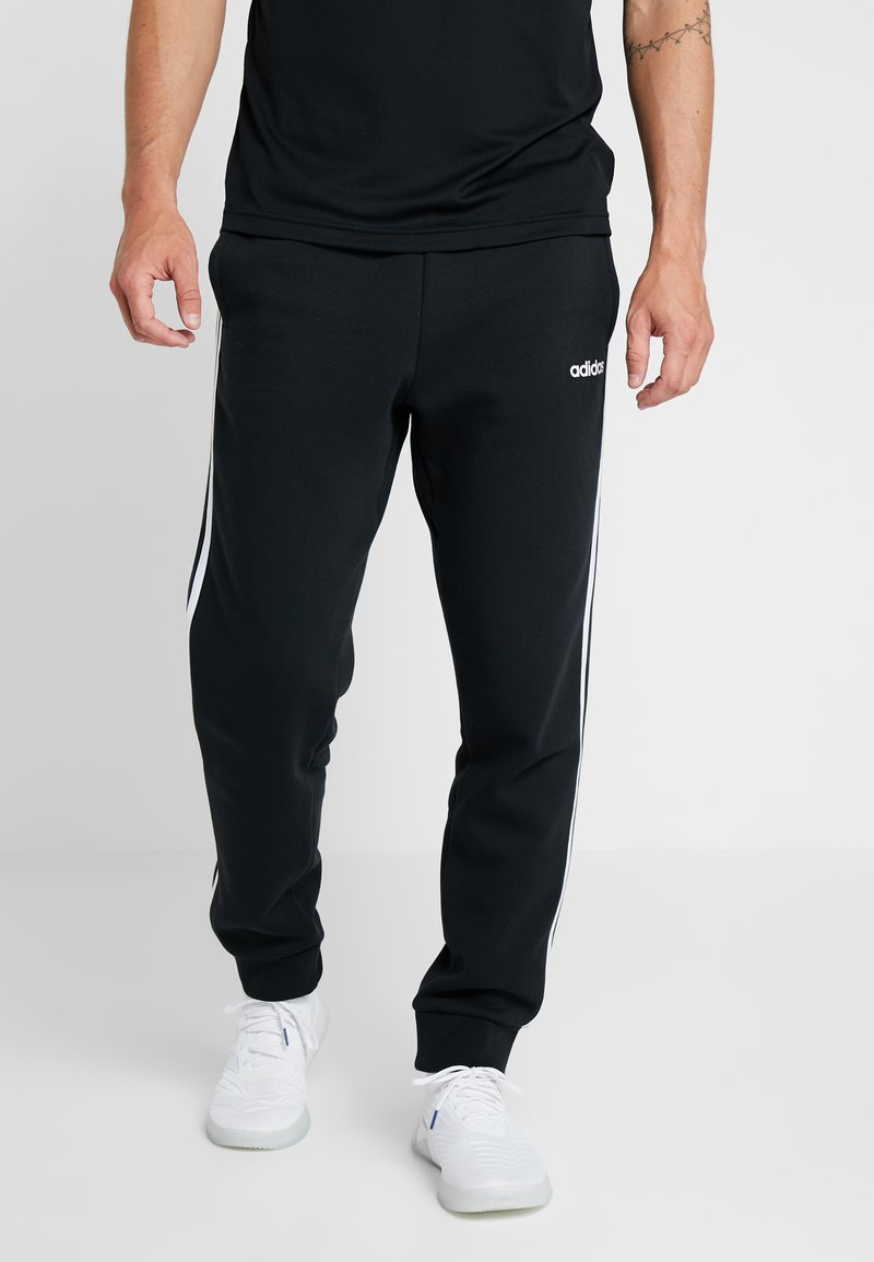 adidas Performance - Tracksuit bottoms - black/white