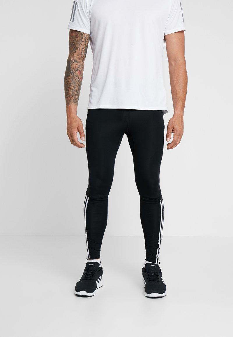 adidas Performance - RUN  - Collants - black/white