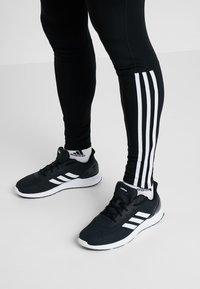 adidas Performance - RUN  - Collants - black/white - 5