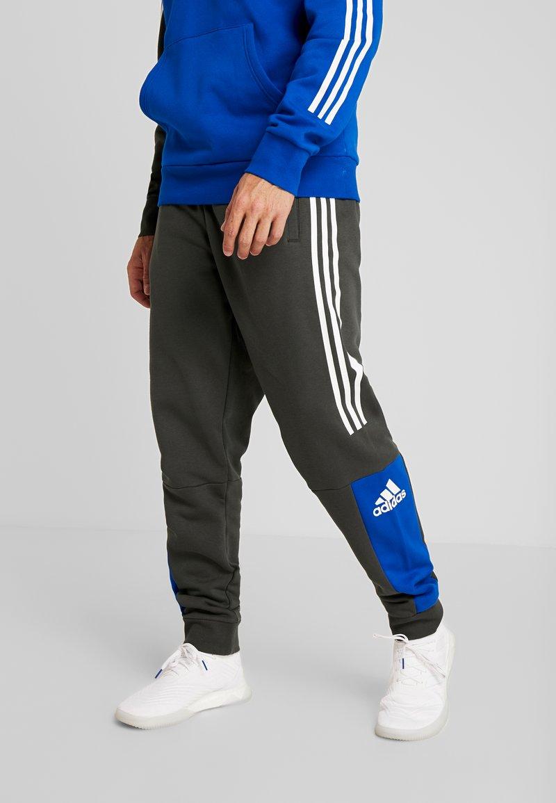 adidas Performance - SPORT ID TAPERED PANT - Trainingsbroek - legear/croyal