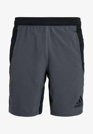 4KRFT SPORT 10-INCH LIGHTWEIGHT SHORTS - Pantalón corto de deporte - black/grey six
