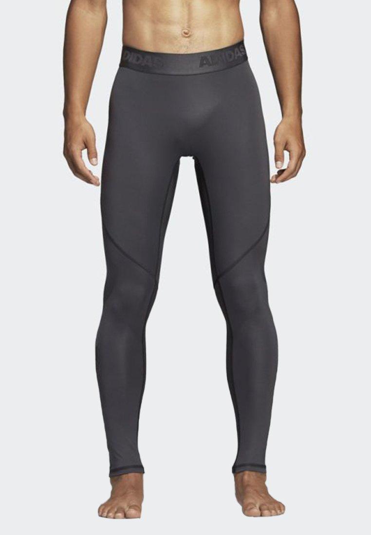 adidas Performance - ALPHASKIN SPORT LONG TIGHTS - Collants - grey