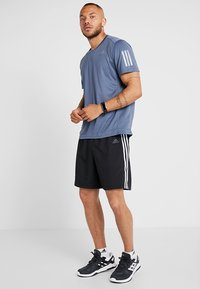 adidas Performance - RUN IT SHORT - Pantalón corto de deporte - black - 1