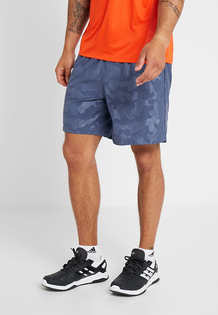 adidas Performance - RUN IT SHORT - Pantalón corto de deporte - blue
