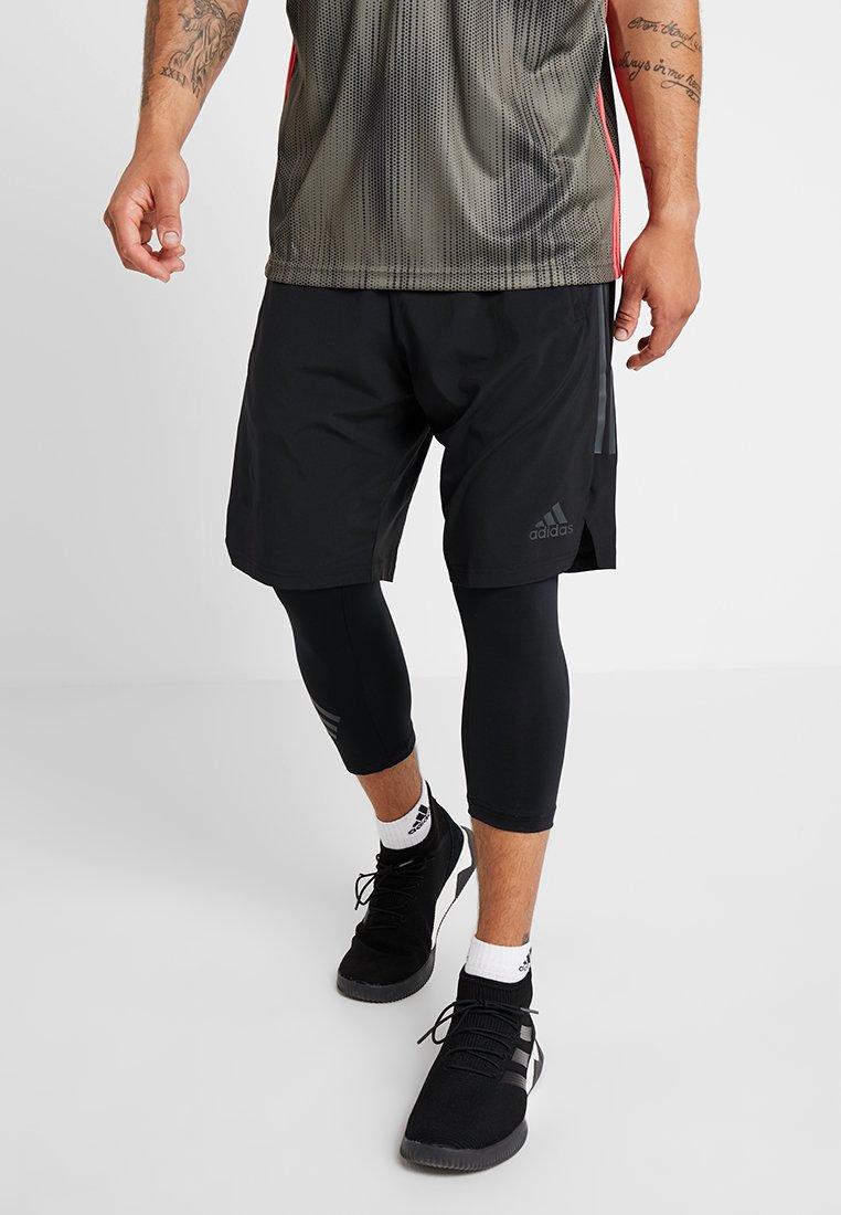 adidas Performance - TAN SHONT - Sports shorts - black
