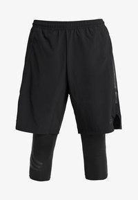 adidas Performance - TAN SHONT - Sports shorts - black - 4