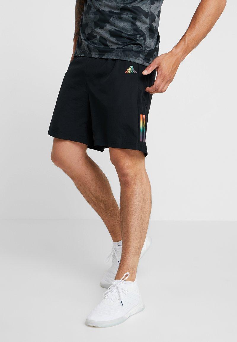 adidas Performance - OWN THE RUN - Pantalón corto de deporte - black