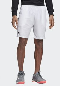 adidas Performance - CLUB SHORTS 9-INCH - Sports shorts - white - 0