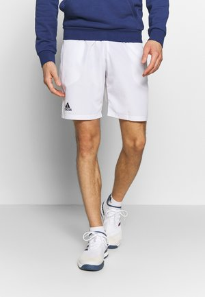 CLUB SHORTS - Sports shorts - white/black