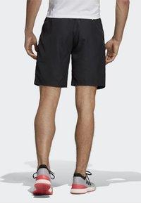 adidas Performance - CLUB SHORTS - Korte broeken - black - 1