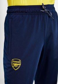 adidas Performance - ARSENAL FC ICONS - Tracksuit bottoms - dark blue - 3