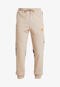 adidas Performance - Pantalon de survêtement - tan - 5