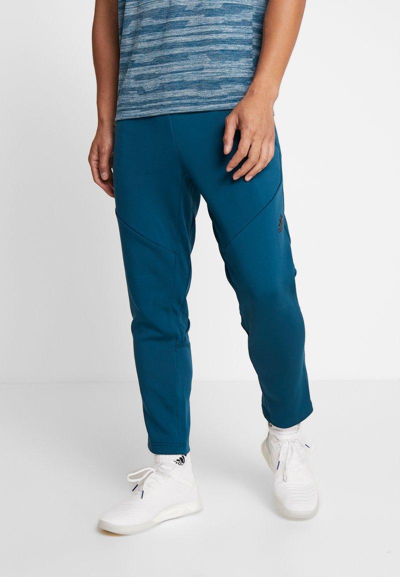 adidas Performance - WARM PANT - Verryttelyhousut - mint