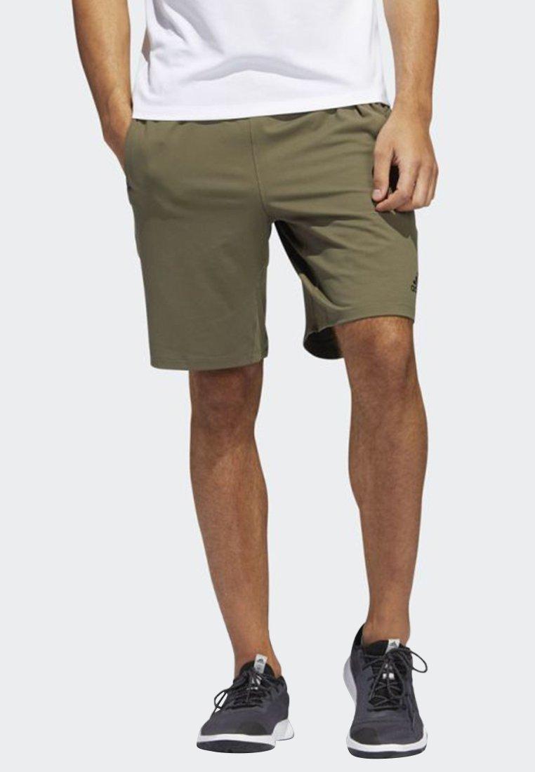 adidas Performance - 4KRFT SPORT ULTIMATE 9-INCH KNIT SHORTS - Sports shorts - green