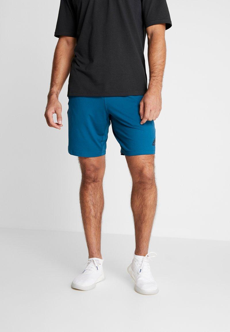 adidas Performance - Pantalón corto de deporte - tech mineral
