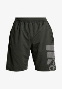 adidas Performance - Sports shorts - green - 3