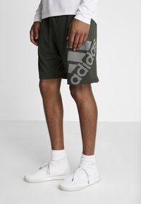 adidas Performance - Sports shorts - green - 0