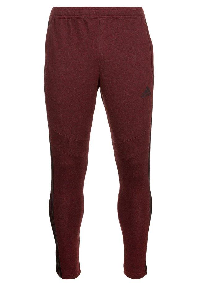 TIRO19 FT PNT - Pantalones deportivos - collegiate burgundy melange / black