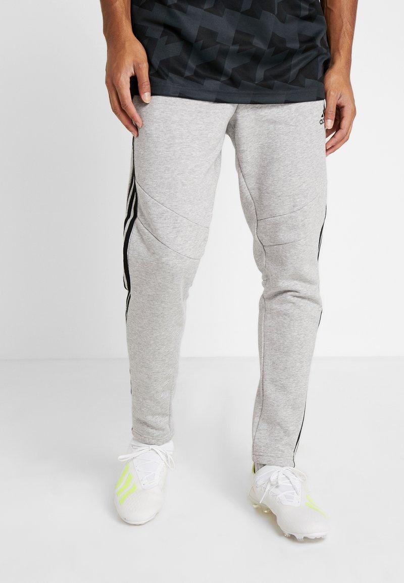 adidas Performance - TIRO - Pantalones deportivos - medium grey heather/black