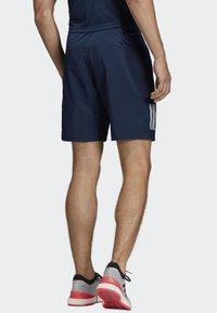 adidas Performance - CLUB 3-STRIPES 9-INCH SHORTS - Träningsshorts - blue - 1