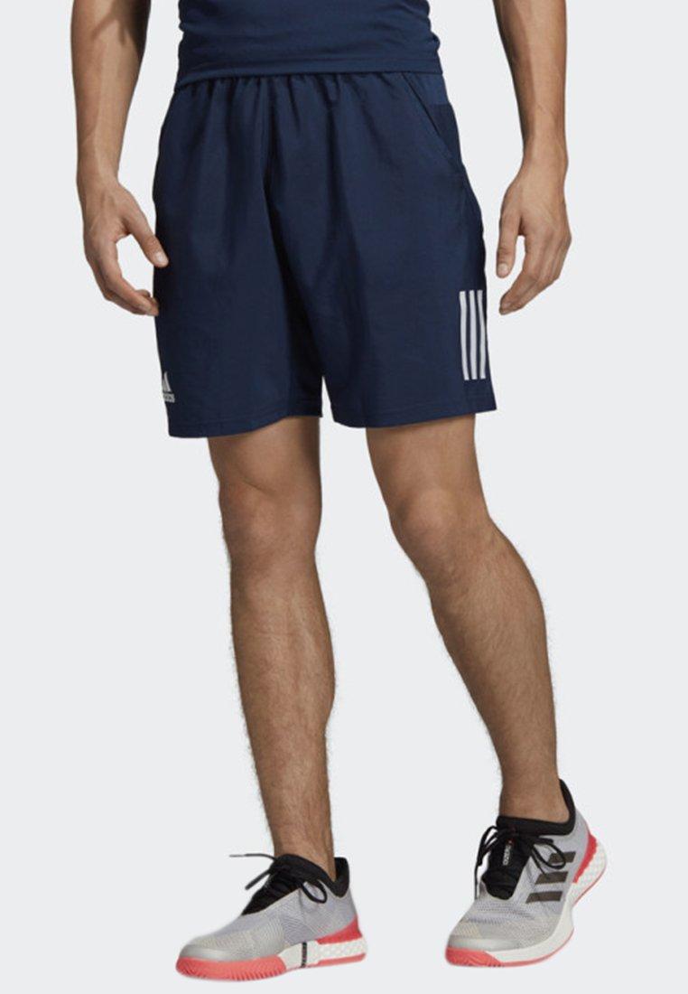 adidas Performance - CLUB 3-STRIPES 9-INCH SHORTS - Träningsshorts - blue