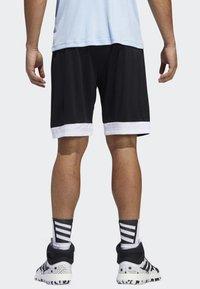 adidas Performance - CREATOR 365 SHORTS - Urheilushortsit - black - 1