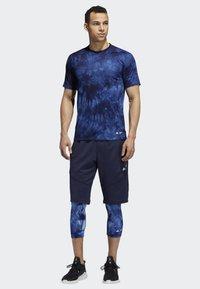 adidas Performance - 4KRFT PARLEY SHORTS - Urheilushortsit - blue - 1