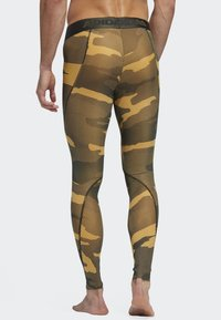 adidas Performance - ALPHASKIN SPORT CAMOUFLAGE LEGGING - Caleçon long - flash orange