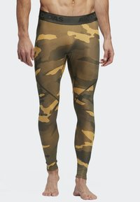 adidas Performance - ALPHASKIN SPORT CAMOUFLAGE LEGGING - Caleçon long - flash orange - 0