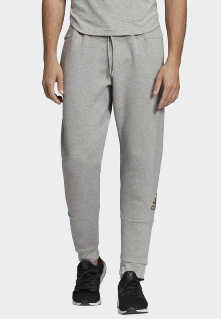 adidas Performance - SPORT ID JOGGERS - Trainingsbroek - grey
