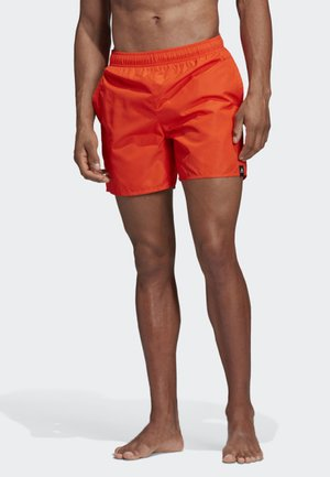 SOLID SWIM SHORTS - Badeshorts - orange