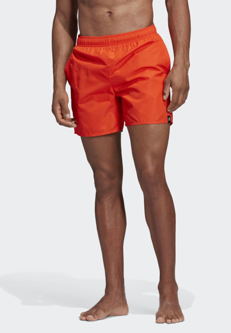 adidas Performance - SOLID SWIM SHORTS - Swimming shorts - orange