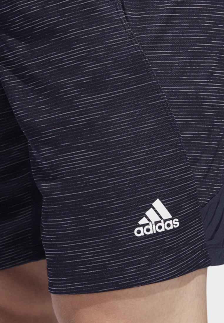 Blue 4krft Performance Striped Adidas Heather ShortsShort Sport De D29HIWE