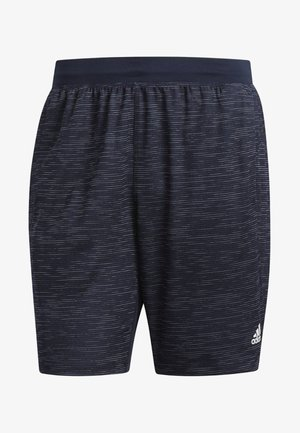 4KRFT SPORT STRIPED HEATHER SHORTS - Korte broeken - blue