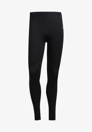 OWN THE RUN LONG TIGHTS - Spodnie treningowe - black