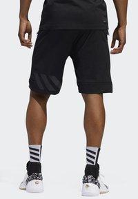 adidas Performance - HARDEN SWAGGER SHORTS - Sports shorts - black - 2