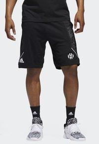 adidas Performance - HARDEN SWAGGER SHORTS - Sports shorts - black - 0