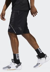 adidas Performance - HARDEN SWAGGER SHORTS - Sports shorts - black - 4