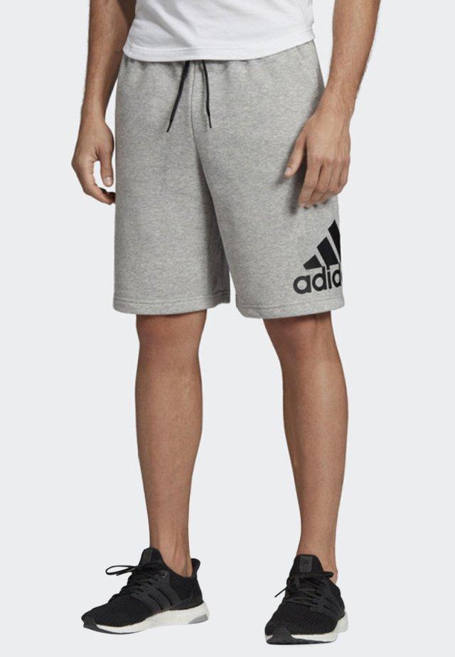 MUST HAVES BADGE OF SPORT SHORTS - Pantaloncini sportivi - gray