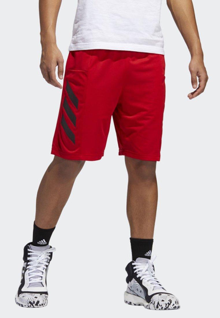 adidas Performance - SPORT 3-STRIPES SHORTS - Short de sport - red
